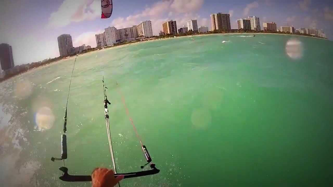25th Street Local Kite Surfing And Paddle Boarding Spot In Miami Beach