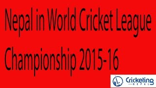 Nepal in World Cricket League Championship