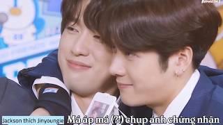 [VIETSUB] 171023 GOT7 Jackson & Jinyoung - Thực tập sinh đẹp hơn hoa của Dingo