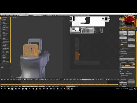 Blender   Speed UV Mapping a Glock
