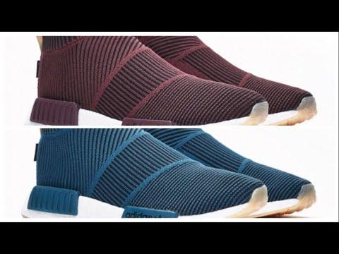 best loved 28baf 6f284 SNEAKERNSTUFF X ADIDAS NMD CITY SOCK GORE TEX DARK BURGUNDY, TEXT BLUE NIGHT  AND MORE !! Sneaker Upcomings