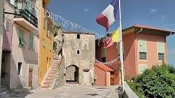 Roquebrune-Cap-Martin, Alpes-Maritimes, Provence-Alpes-Côte d'Azur, France [HD] (videoturysta)