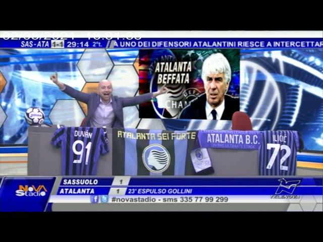 L'Atalanta pareggia con il Sassuolo, Inter campione d'Italia
