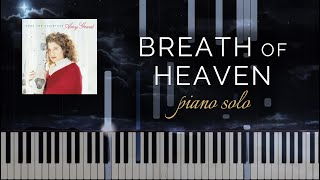 Breath of Heaven/Mary's Song by Amy Grant (Piano Solo + Tutorial)