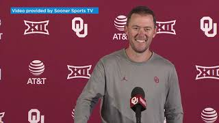 OU Football: Riley reviews win against Red Raiders