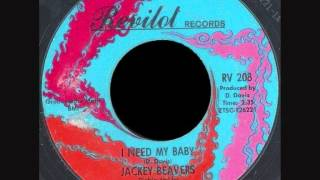 Jackey Beavers - I need my baby