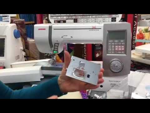 Janome Horizon Memory Craft 7700 QCP and Janome Memory Craft 8900 QCP