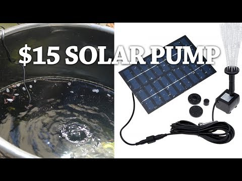 Mini Solar Fountain Pump-Does It Really Work?