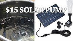 Mini Solar Fountain Pump-Does it really work?