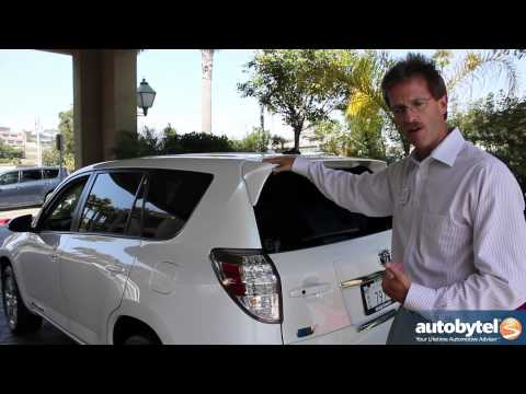 2012 Toyota RAV4 EV Walkaround Car Review Video