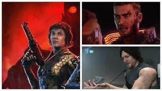 Про Wolfenstein: Youngblood, Cyberpunk 2077, Death Stranding, Rockstar   За неделю