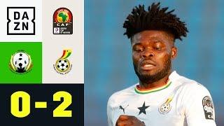 Thomas schießt Ghana ins Achtelfinale: Guinea-Bissau - Ghana 0:2 | Afrika Cup | DAZN Highlights