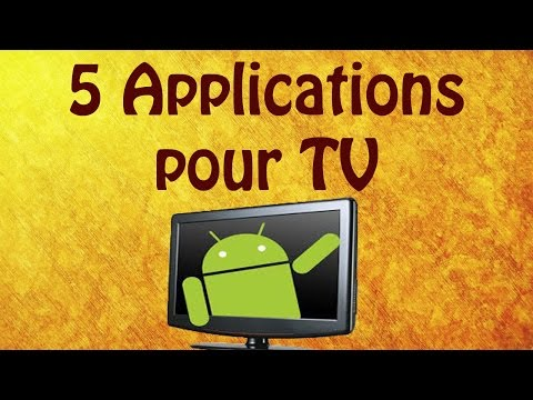 5 applications pour regarder la Tele en direct et en replay !