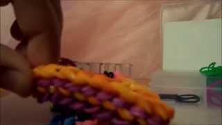 Видеоурок#2 плетение из резиночек тратуар