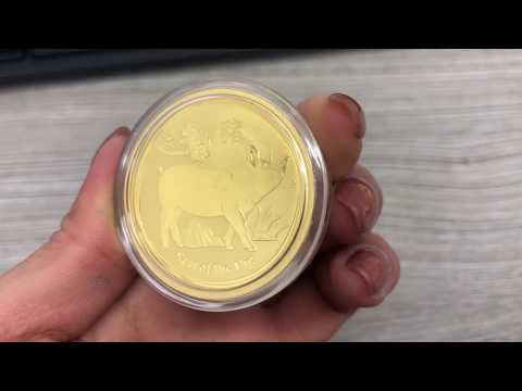2019 Year of The Pig Gold Coin Perth Mint | Bullion Exchanges