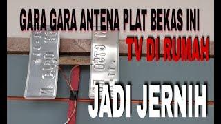 GARA2 ANTENA PLAT NOMER BEKAS TV DI RUMAH JD JERNIH PADAHAL JAUH DARI KOTA BESAR