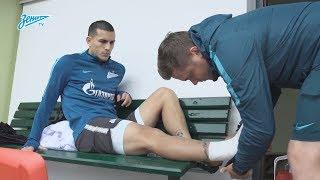 «Зенит-ТВ»: первая тренировка Леандро Паредеса в составе сине-бело-голубых