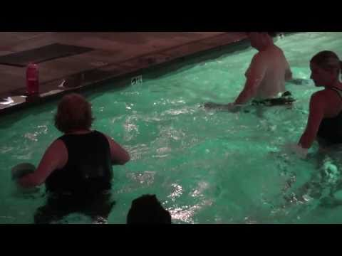 Warm Water Aerobic Pool Exercise In Huntington Beach, CA