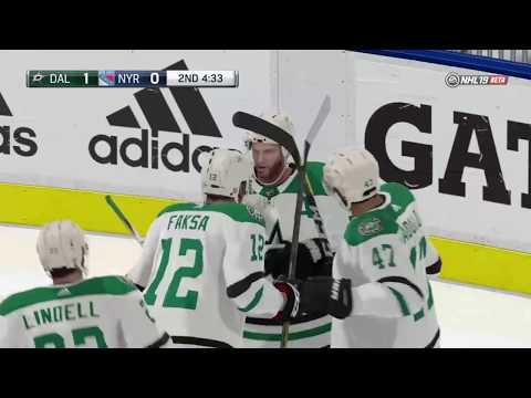 NHL 19 Beta Dallas Stars Gameplay
