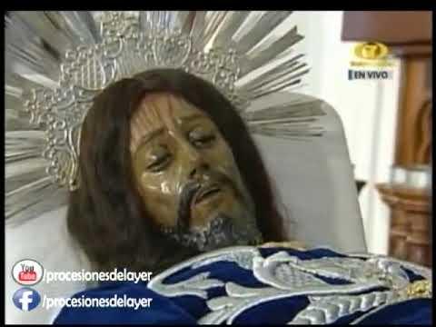 2017 Semana Santa Antigua Guatemala Viernes Santo Señor Sepultado Templo de San Felipe
