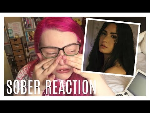 DEMI LOVATO - SOBER *EMOTIONAL REACTION*