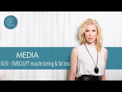 EMSCULPT fat burning muscle building device