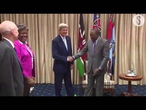 Uhuru, John Kerry discuss S  Sudan crisis, terrorism