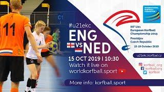 IKF U21 EKC 2019 ENG - NED