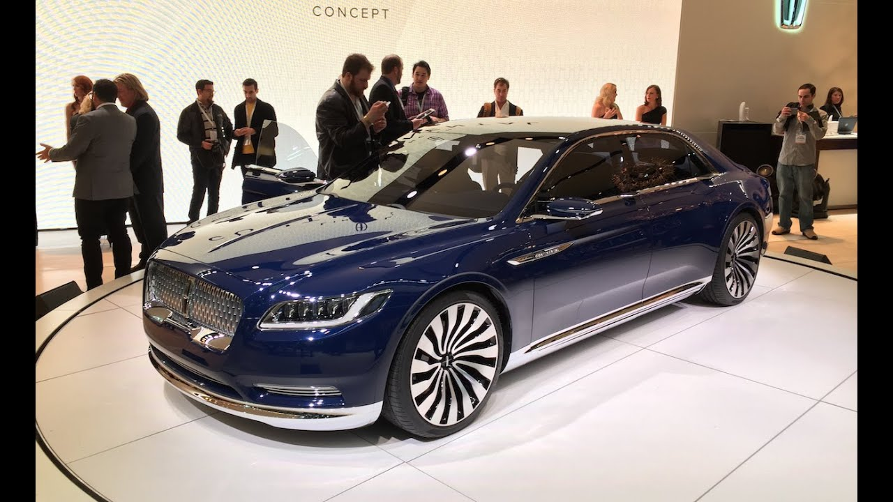 lincoln continental concept 2015 nyias fast lane daily youtube. Black Bedroom Furniture Sets. Home Design Ideas