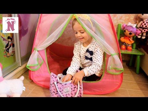 Беби Борн Ненуко Кроватка и коляски для кукол Много игрушек Room Tour with toys
