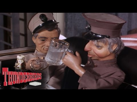Drunk Parker Makes A Toast To Lady Penelope - Thunderbirds