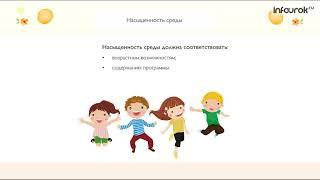 Организация развивающей образовательной среды в условиях реализации ФГОС ДО