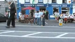 Marioneta gigante en irlanda