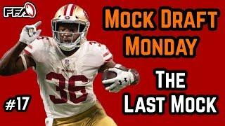 2018 Fantasy Football Mock Draft - Alfred Morris or Matt Breida?