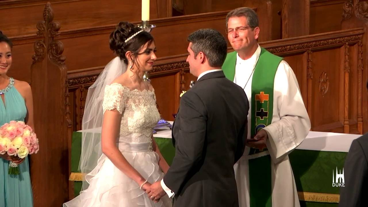Weddings Resume At Duke University Chapel After Yearlong Restoration