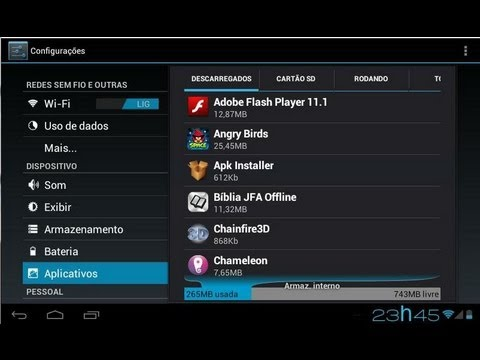 Android 4.0.3 Ice Cream Sandwich - Português
