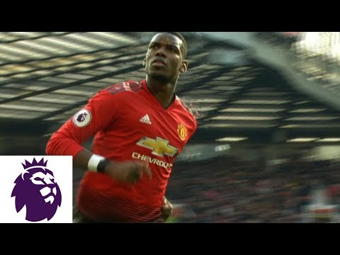 Paul Pogba converts PK to give Man United 1-0 lead v. West Ham | Premier League | NBC Sports