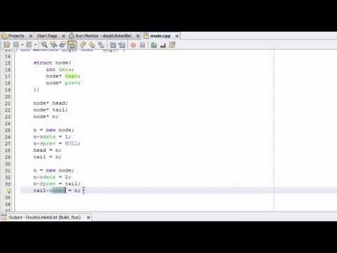 How To Create A Doubly Linked List  C++ ( Part 1 )