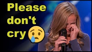 "Top 5 ""WOMAN CRYING"" EMOTIONAL On Got TALENT WORLDWIDE!"