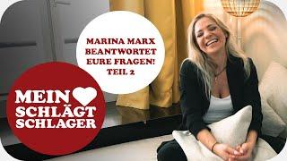 Marina Marx über Freunde, Familie und Fans (Fanfragen Teil 2)