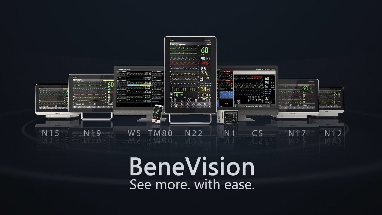 Expand your view with Mindray's BeneVision N-Series