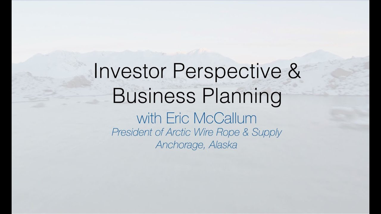Where to Startup: Investor Perspective & Business Planning - YouTube