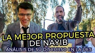 La mejor propuesta de Nayib Bukele - SOY JOSE YOUTUBER