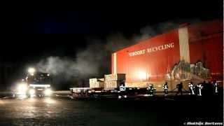 Middelbrand bij Van den Noort Recycling in Dongen (2012-10-02)