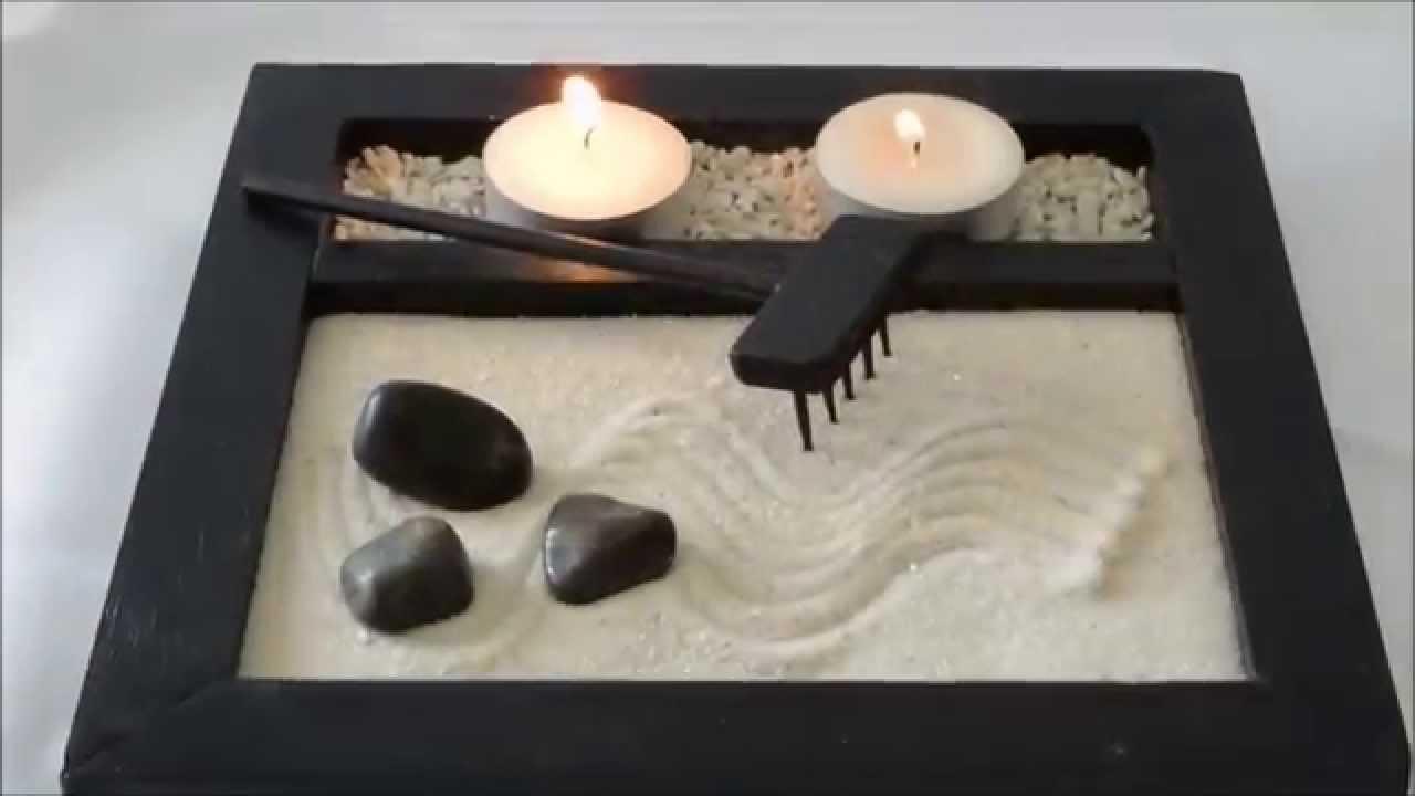 Jardines miniatura zen youtube for Figuras para jardin zen