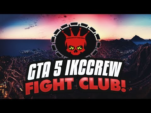 GTA 5 ONLINE WITH IKC CREW - FIGHT CLUB AT CHUMASH BUNKER LIVE STREAM #IKCCREW