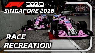 F1 2018 GAME: RECREATING THE 2018 SINGAPORE GP