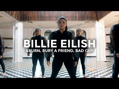 Billie Eilish - &burn bury a friend bad guy Dance   besperon Choreography