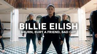 Billie Eilish - &burn, bury a friend, bad guy (Dance Video) | @besperon Choreography