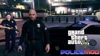 GTA 5 Pc - Policia Mod